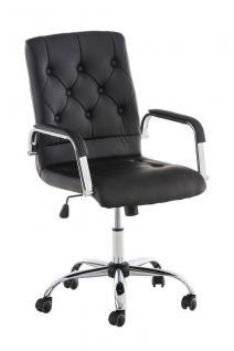Bürostuhl schwarz hochwertig günstig Chefsessel stabil ergonomisch design modern