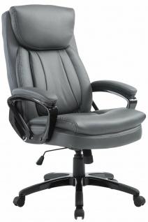 Chefsessel grau Chefsessel Drehstuhl Computerstuhl Schreibtischstuhl stabil