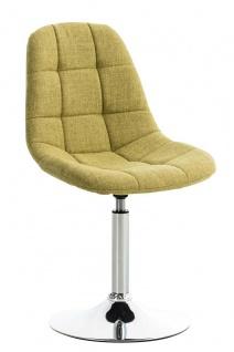 Esszimmerstuhl grün drehbar Stoffbezug Küchenstuhl design modern hochwertig