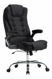 XXL Chefsessel schwarz 150kg belastbar Bürostuhl schwere Personen stabil robust