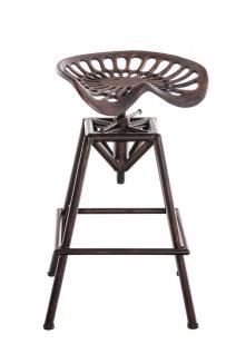 Barhocker bronze Tresenstuhl Industrie Küchenhocker industial Tresenhocker