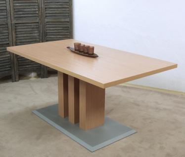 Säulentisch Buche natur Esstisch Esszimmertisch Küchentisch modern design neu