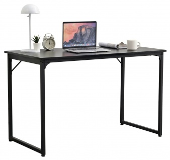 moderner Schreibtisch schwarz Computertisch Arbeitstisch industrial design NEU