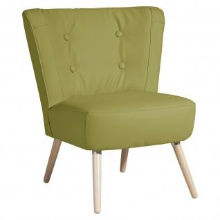 Retro/Vintage Sessel Made in Germany Kunstleder Wohnzimmersessel Einzelsessel