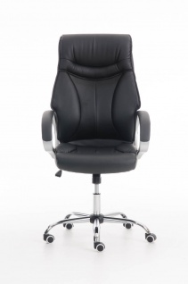 XXL Bürostuhl schwarz 150 kg belastbar Chefsessel Kunstleder stabil hochwertig - Vorschau 2