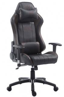 XL Bürostuhl 150 kg belastbar schwarz braun Chefsessel Zocker Gamer Gaming neu