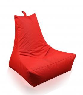 Lounge Sessel rot Riesensitzsack Sitzsack Sitzkissen XXL Kissen Indoor Outdoor