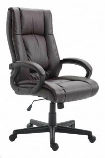 XL Chefsessel 140 kg belastbar braun Bürostuhl Drehstuhl robust stabil günstig