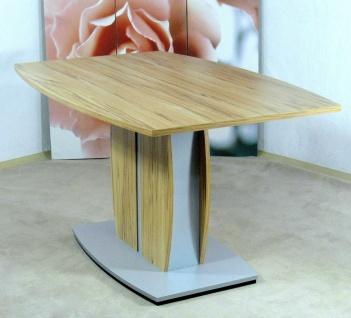 moderner Säulentisch Kernbuche Esstisch Esszimmertisch design günstig preiswert