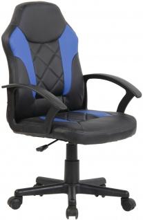"Kinder Bürostuhl "" Ben"" blau Computerstuhl Drehstuhl Jugend Schreibtischstuhl"