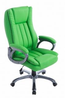 XL Bürostuhl 150 kg belastbar grün Chefsessel große schwere Personen stabil