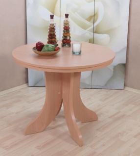 Esstisch rund g nstig sicher kaufen bei yatego - Esszimmertisch rund ausziehbar ...