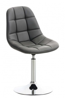 Esszimmerstuhl grau drehbar Kunstleder Küchenstuhl design modern hochwertig