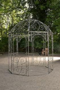 Romantischer Eisenpavillon antik bronze Gazebo Pavillion Pergola Rosenspalier