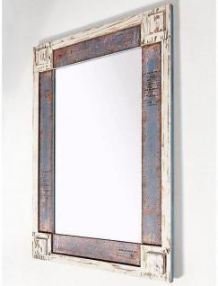 Wandspiegel Massivholzrahmen used look weiß Vintage Spiegel Farbwahl ...