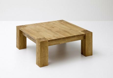 Couchtisch Asteiche Massivholz geölt Sofatisch Wohnzimmertisch Beistelltisch