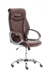 XXL Bürostuhl bordeaux 150 kg belastbar Chefsessel Kunstleder stabil hochwertig