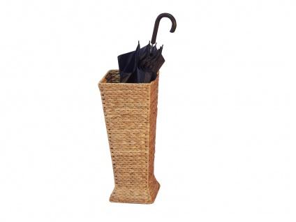 Schirmständer natur Wasserhyazinthe Regenschirmständer Schirmhalter preiswert