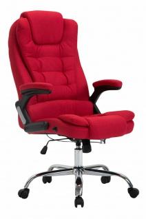 XXL Chefsessel rot 150 kg belastbar Bürostuhl schwere Personen robust stabil