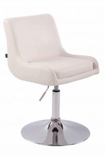 2 x Esszimmerstühle weiß Kunstleder Stuhlset Küche drehbar design modern neu