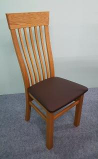 2er Set Stühle Wildeiche massivholz geölt Esszimmerstühle Stuhlset stabil robust