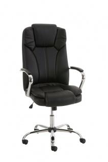 XXL Chefsessel schwarz 210 kg belastbar Bürostuhl Drehstuhl Computerstuhl stabil