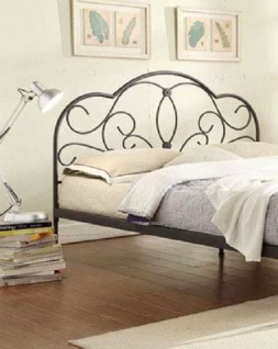 metallbett 200 x 200 online bestellen bei yatego. Black Bedroom Furniture Sets. Home Design Ideas