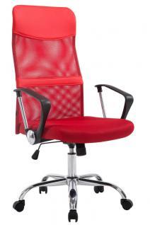XL Chefsessel rot bis 180 kg Netzbezug Bürostuhl hochwertig modern design neu