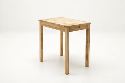 Esszimmertisch 50-70 cm massiv geölt Kernbuche Tisch günstig Esstisch vollmassiv