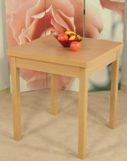 Auszugtisch Buche massivholz natur Esszimmertisch Tisch Küchentisch klassisch