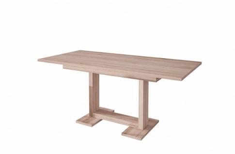 moderner Esstisch Remo hell ausziehbar Auszugtisch Küchentisch design günstig
