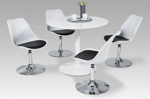 moderner Esstisch Hochglanz weiß Küchentisch Esszimmertisch design Tisch neu