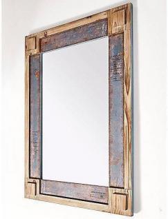 Wandspiegel Massivholzrahmen used look natur Vintage Spiegel Farbwahl 76 x 107cm