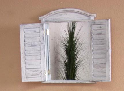 Spiegel Wandspiegel antik weiß Türen aufklappbar massiv Landhaus günstig neu