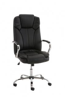 XXL Chefsessel schwarz bis 210kg belastbar Bürostuhl modern design hochwertig