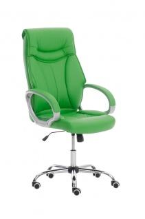 XXL Bürostuhl grün 150 kg belastbar Chefsessel Kunstleder stabil hochwertig