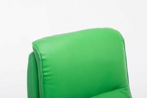 XL Chefsessel 150 kg belastbar grün Kunstleder Bürostuhl große schwere Personen - Vorschau 5