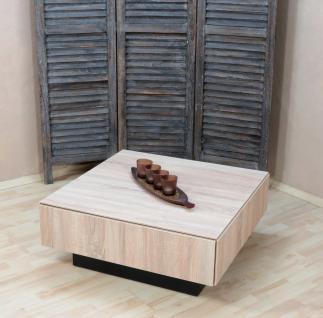Couchtisch Sonoma eiche Wohnzimmertisch Sofatisch Schubkasten design modern neu