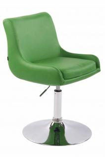 2 x Esszimmerstühle grün Kunstleder Stuhlset Küche drehbar design modern neu