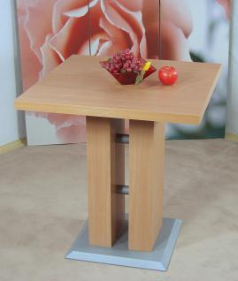 Säulentisch Buche natur Esstisch Esszimmertisch Tisch Küchentisch Esszimmer neu
