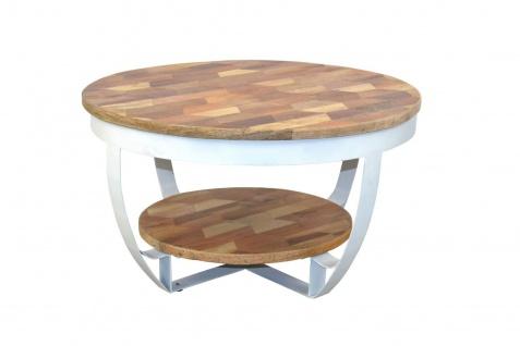 couchtisch rund weiss online bestellen bei yatego. Black Bedroom Furniture Sets. Home Design Ideas