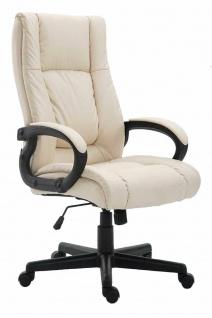 XL Chefsessel 140 kg belastbar creme Bürostuhl Drehstuhl robust stabil günstig