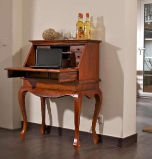 Sekretär Mahagoni Holz antik rustic kolonialstil Schreibtisch Unikat Landhaus