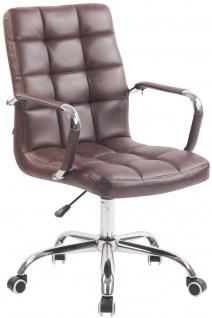 Bürostuhl bordeauxrot belastbar Drehstuhl Chefsessel Arbeitshocker modern design