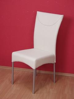 2 zwei x Stuhl beige günstig Stuhlset Stuhlgruppe Esszimmerstühle elegant modern
