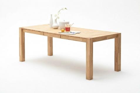 Auszugtisch Wildeiche massivholz geölt Esszimmertisch Esstisch mit Auszug NEU