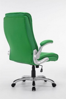 XL Chefsessel 150 kg belastbar grün Kunstleder Bürostuhl große schwere Personen - Vorschau 4