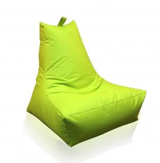 Lounge Sessel grün Riesensitzsack Sitzsack Sitzkissen XXL Kissen Indoor Outdoor