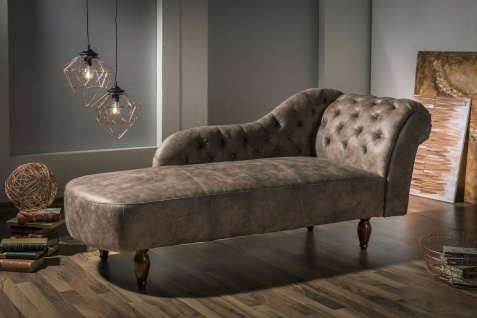 Made in Germany Recamiere Luxus Chaiselongue Loungesofa Relaxliege modern design