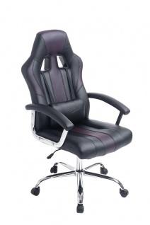 Bürostuhl schwarz braun Chefsessel günstig sportlich stabil hochwertig modern